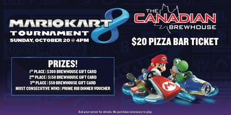 Mario Kart 8 Tournament - Harvest Hills (All Ages) tickets