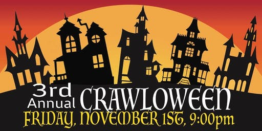 Suffern's Crawloween Bar Crawl 2019!