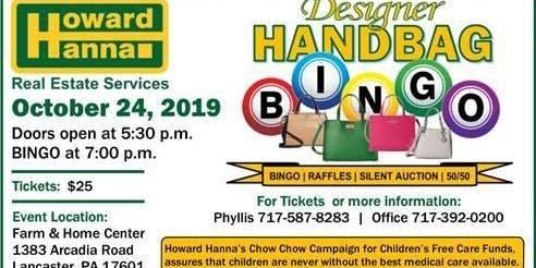 Howard Hanna Designer Handbag Bingo