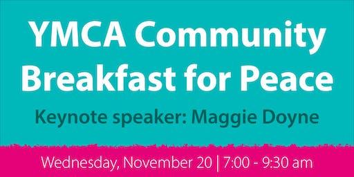 YMCA Community Breakfast for Peace 2019