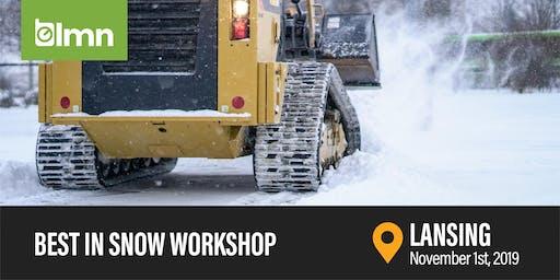 Best in Snow Workshop - Lansing, MI