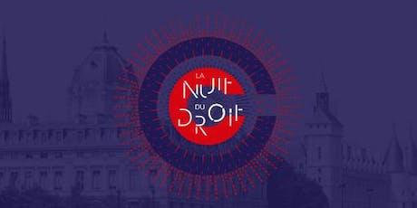 LA NUIT DU DROIT AU TRIBUNAL DE COMMERCE DE PARIS billets