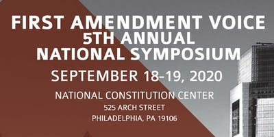5th Annual First Amendment Voice National Symposium