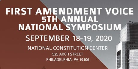 5th Annual First Amendment Voice National Symposium tickets