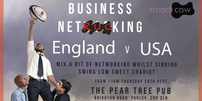 Business NetRUCKing - England Vs USA Rugby World C