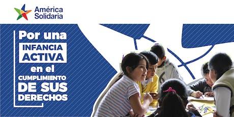 Lanzamiento América Solidaria México entradas