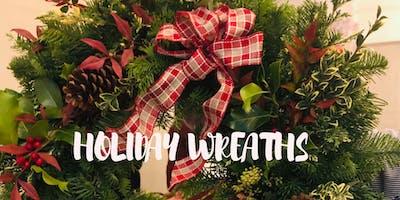 Make it & Take it: Holiday Wreaths