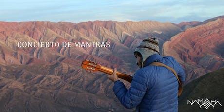 Concierto de Mantras en Belgrano con Namaha entradas