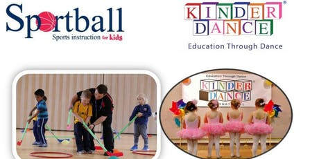 Kids Dance and Sports Class ages 16mons-5yrs tickets