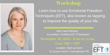 Learn how to use Emotional Freedom Techniques (EFT), also known as tapping. tickets