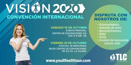 TLC's International Latin Convention | Vision 2020 tickets