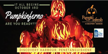 Pumpkinferno 2019 at Discovery Harbour tickets