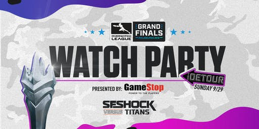 Grand Finals Watch Party presented by GameStop
