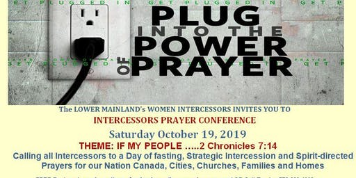 INTERCESSORS PRAYER CONFERENCE