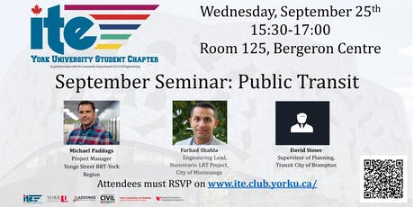 September Seminar- Public Transit tickets