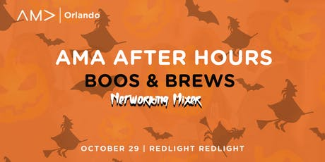 AMA After Hours: Boos & Brews tickets