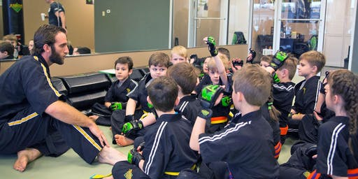 FREE Children's KARATE For CONCENTRATION Workshop