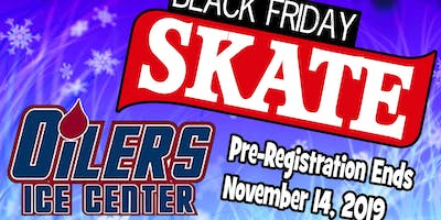 Oilers Ice Center Black Friday Overnight Skating Event