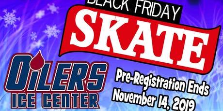 Oilers Ice Center Black Friday Overnight Skating Event tickets