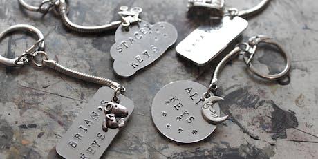 Metal Stamped Jewellery Workshop at Queenies, Huddersfield tickets