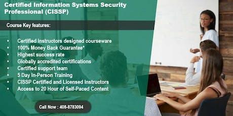 CISSP Certification Training in Washington, DC tickets