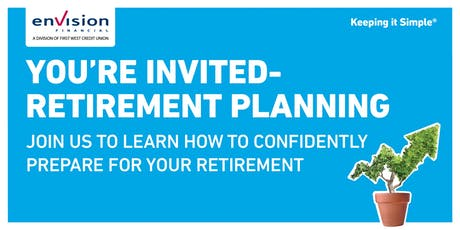 Member Education Event - Retirement Planning tickets