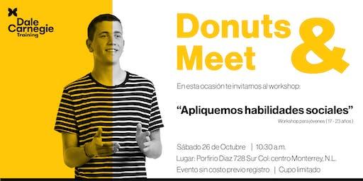 """Donuts & Meet  """"Apliquemos habilidades sociales"""""""