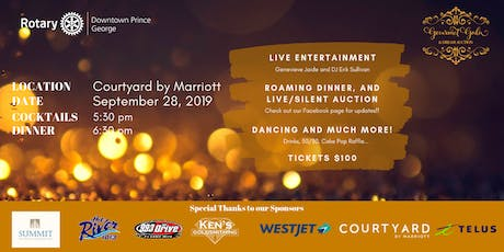 Prince George Gourmet Gala and Dream Action 2019 tickets