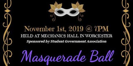 SGA presents Masquerade Ball tickets