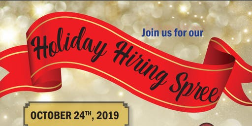 Holiday Hiring Spree