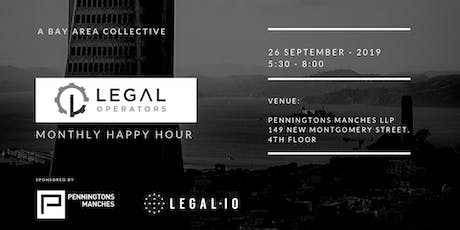 Legal Operators Monthly Happy Hour tickets