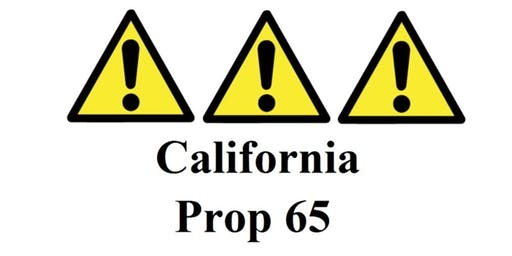 "ASQ 706 November Event ""Prop 65 Compliance for Foods & Supplements"""