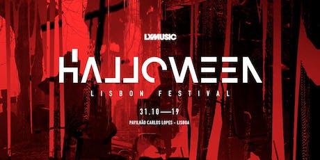 Halloween Lisbon Festival 2019 bilhetes