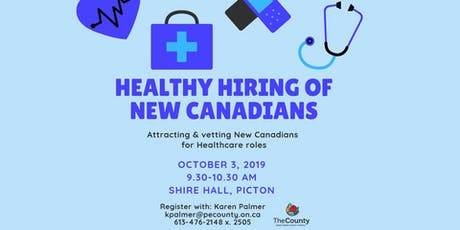 Healthy Hiring: Attracting & Vetting New Canadians for Healthcare Roles tickets