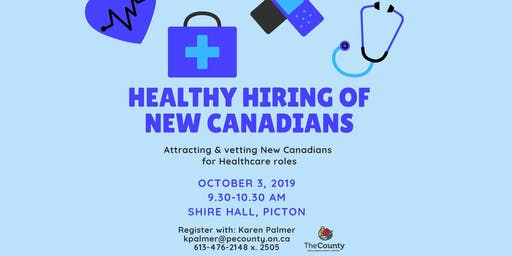 Healthy Hiring: Attracting & Vetting New Canadians for Healthcare Roles