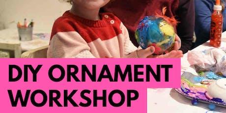 DIY Ornament Family Art Workshop tickets