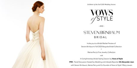 Marisa Perry Atelier, Steven Birnbaum and Vows of Style Bridal Event tickets