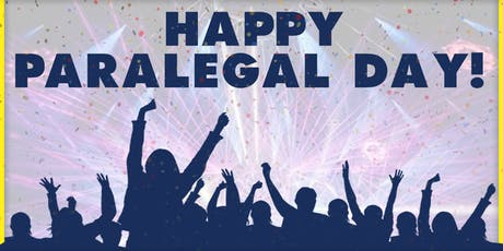 Save the Date to Celebrate National Paralegal Day! tickets