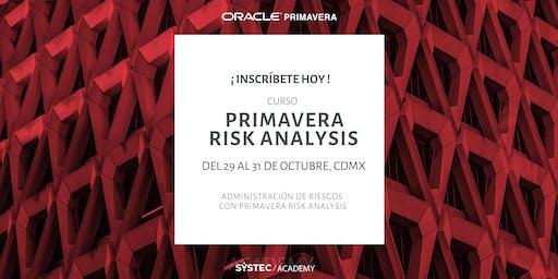 Primavera Risk Analysis