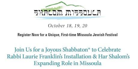 Shalom Missoula tickets