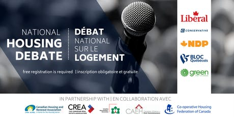 2019 National Housing Debate tickets