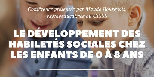 Développement des habiletés sociales chez les enfants de 0 à 8 ans