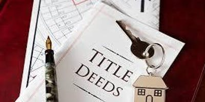 Double Header -1) Conveyance Deeds - What's the difference between special, general, quit claim, etc. & 2) The 2019 Form Changes )including closing instructions) - Greg Parham