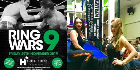 Ring Wars 9 - Birmingham Boxing Ring Girls Limitless Benefits tickets