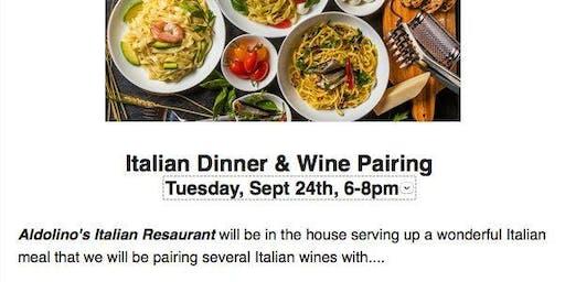 That's Italian - Dinner & Wine Pairing