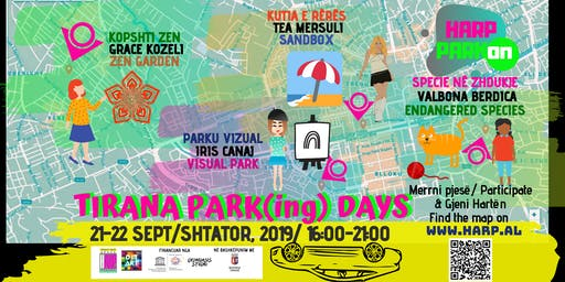 Tirana PARKing Days/ HARP PARKon