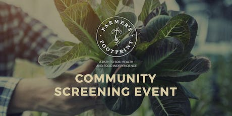 Farmer's Footprint Screening Hosted by 96 Bangalow and Harvest Restaurant tickets