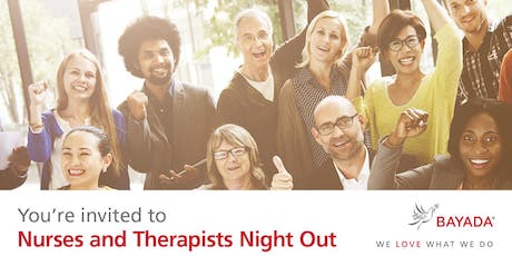 Nurses & Therapists Night Out - Wilmington tickets