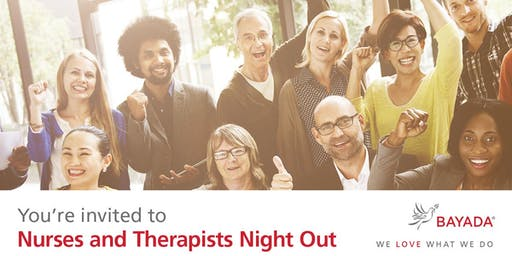Nurses & Therapists Night Out - Wilmington