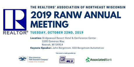 2019 RANW Annual Meeting tickets